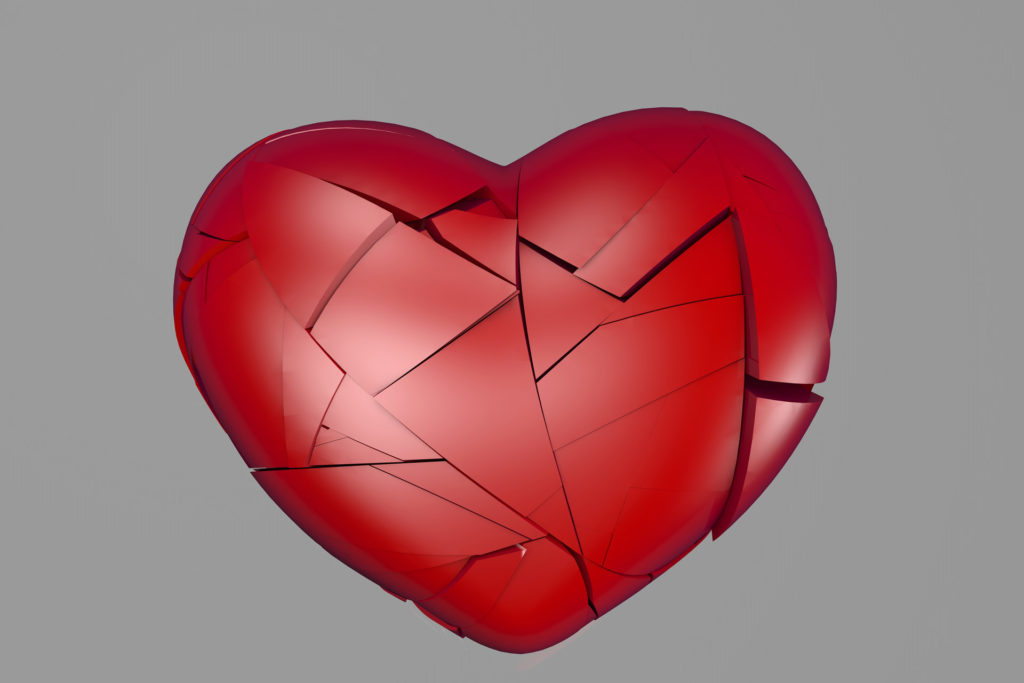 A troubled heart