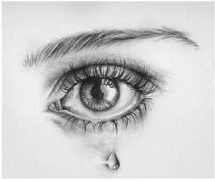 Sorrow brings about tears